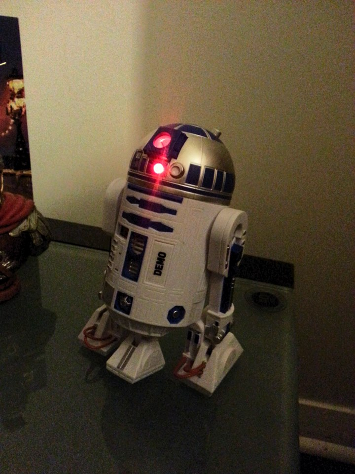 r2d2 projection alarm clock Find great deals on ebay for r2d2 projection clock and blink watch shop with confidence skip to main content ebay new listing star wars r2d2 projection alarm.