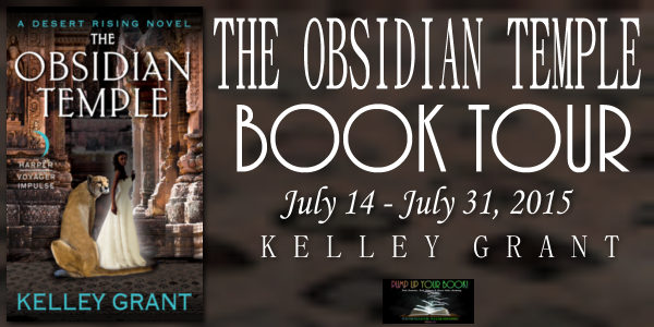 The Obsidian Temple Book Banner