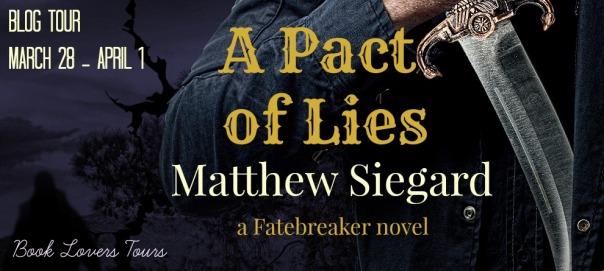 A Pact of Lies banner