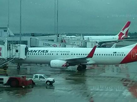 Leaving Melbourne