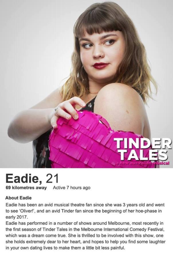 Eadie Tinder Bio
