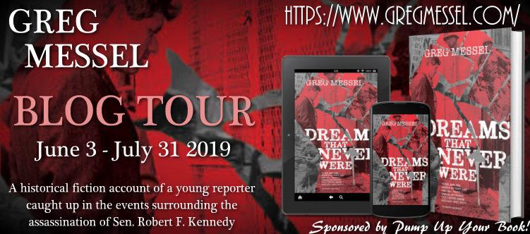 Dreams That Never Were Blog Tour Banner