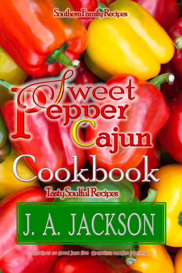 BookCover- Sweet Pepper Cajun Cookbook-NEW